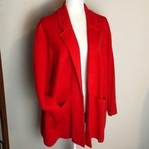 J CREW 365 Women's Open Sweater Blazer 3X Stretch